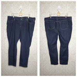 Torrid Dark Wash Skinny Jeans 24S Short